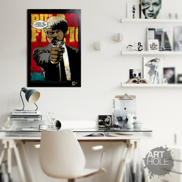 Pulp Fiction Pop Art Artwork