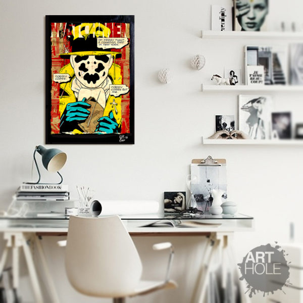 Rorschach Watchmen Pop Art Poster